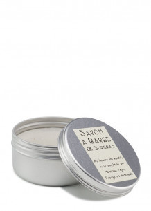 Savon de rasage thym, orange et patchouli